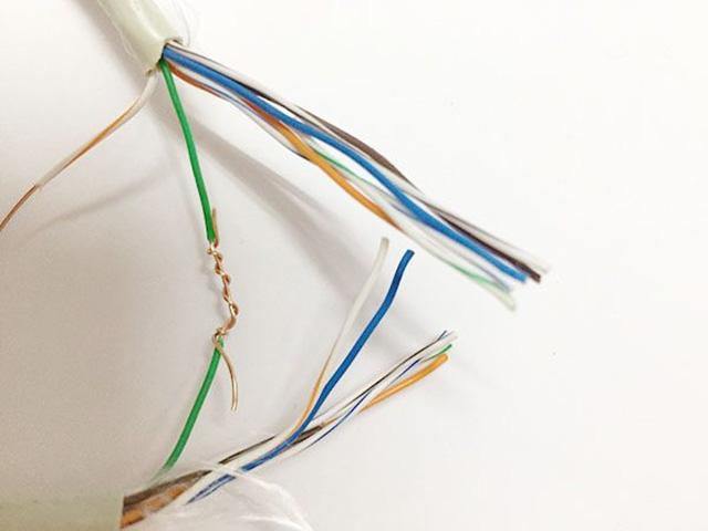 Cách nối dây mạng khi bị đứt