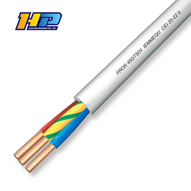 Flexible cable froh2r_450_750v