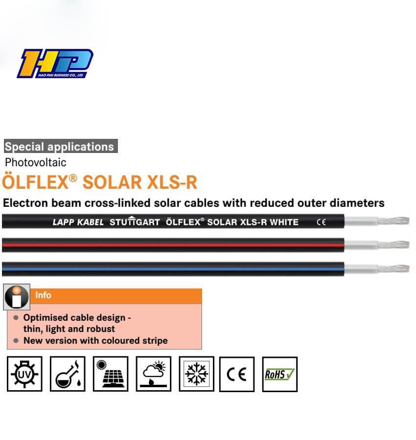 olflex solar cable xlr 1x4 1kv ac/ dc h1z2z2-k